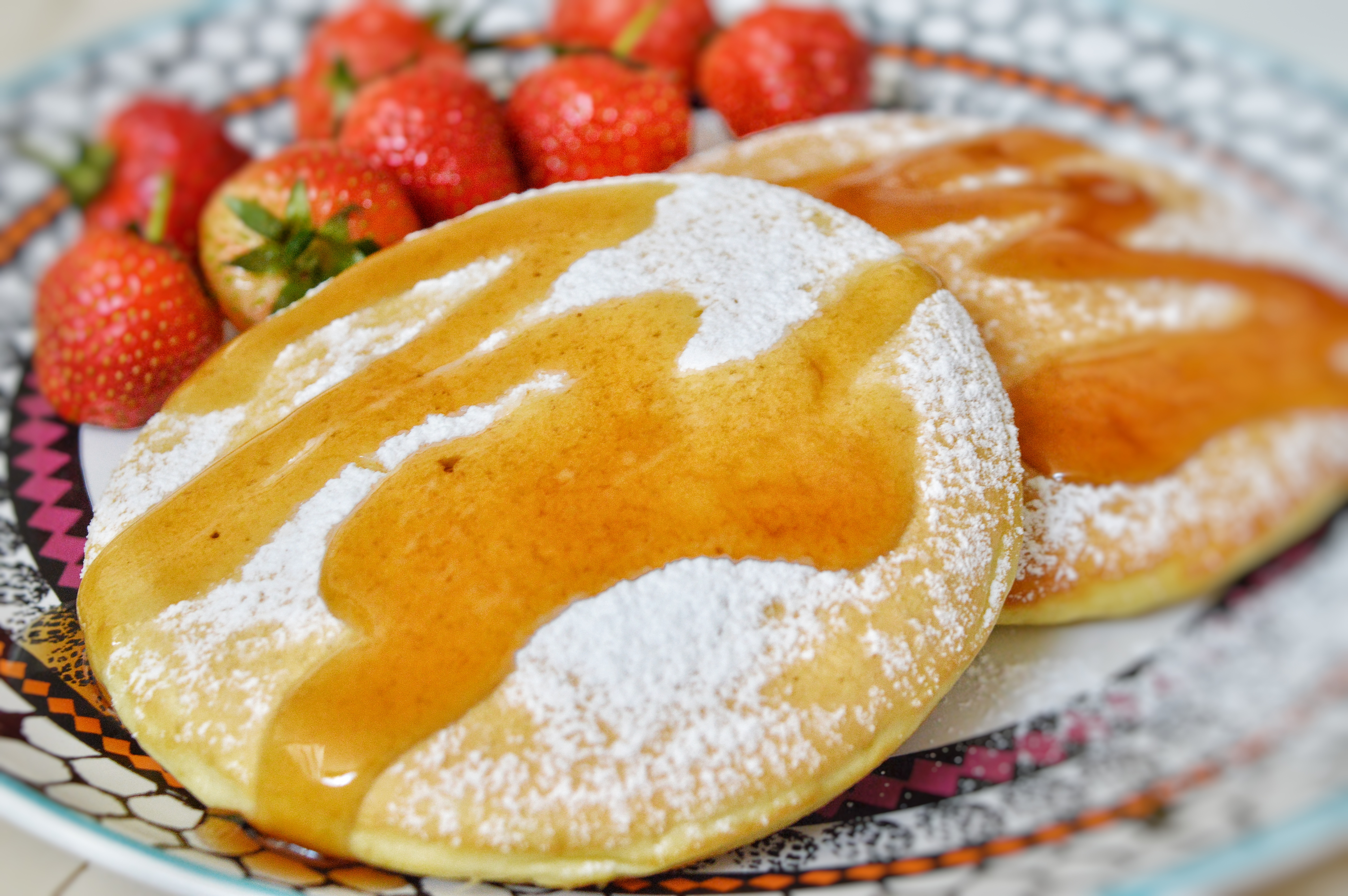 pancakes alti e soffici low fat