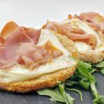 cotollette di zucca con prosciutto e formaggio