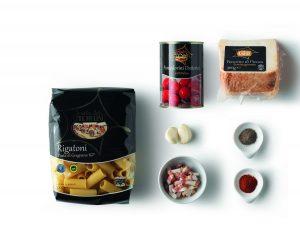 ingredienti rigatoni eurospin