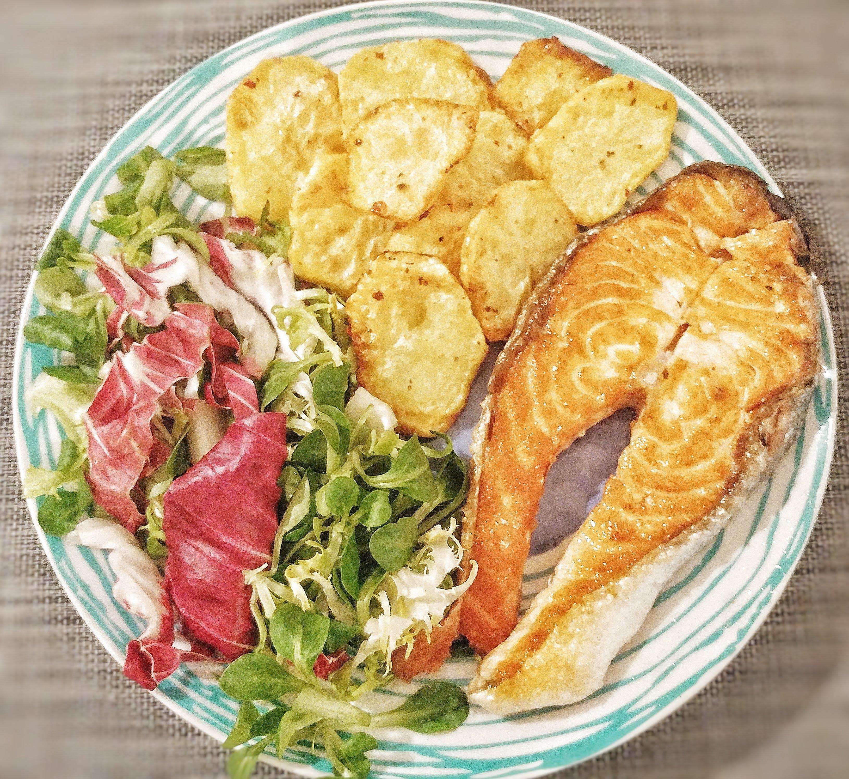 patate fritte non fritte lime e pepe rosa